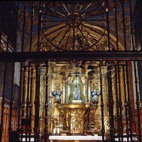 Capilla de San Andrés en la Iglesia de San Pedro de la Rúa de Estella (Navarra)